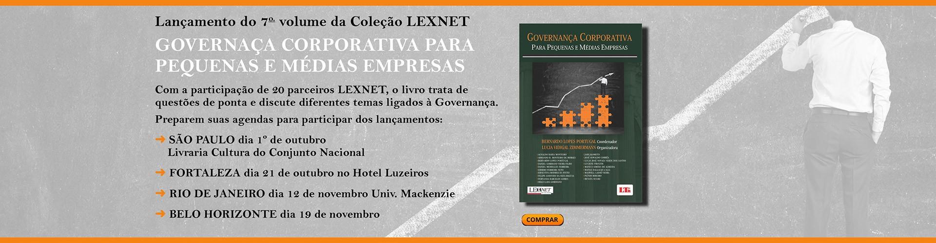 Lançamento do 7º volume da Coleção LEXNET